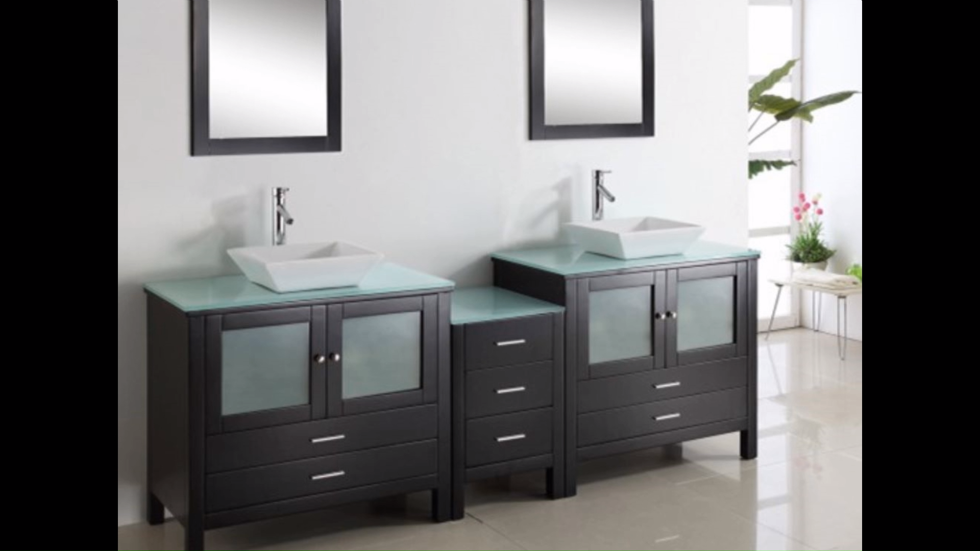 double vanity units for sale in Grey